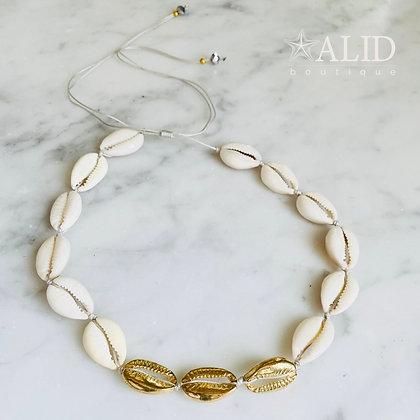 Collar Conchas Dorado3