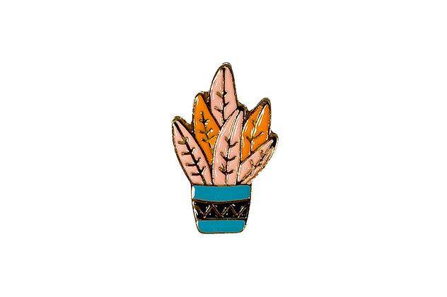 Pin Maceta azul