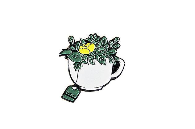 Pin Taza de té