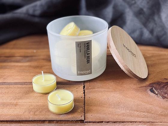 Set Velas tealight Vanilla bean