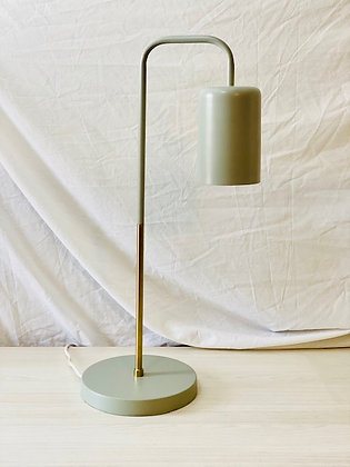 Lámpara mesa Bronce Gris