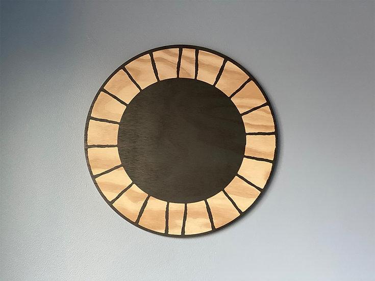Cuadro diseño radial grande