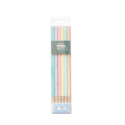 Mr Wonderful Pack de 6 lápices superbonitos