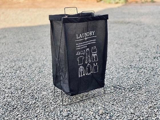Basket plegable Negro Laundry