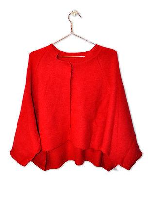 Chaqueta/capa roja
