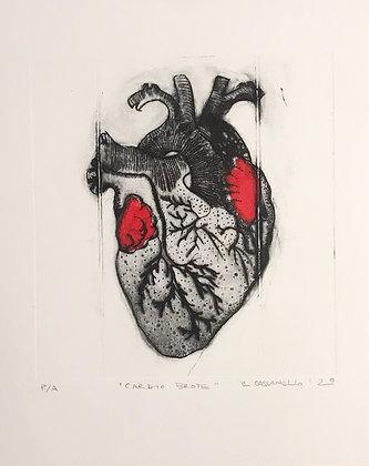 Grabado Cardio brote 22x28 cm
