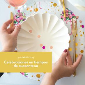 Celebraciones en casa en cuarentena