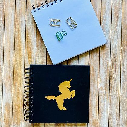 Cuaderno Folia Unicornio / Interior Blanco