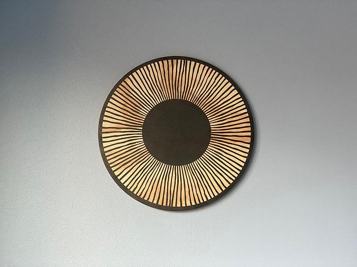 Cuadro diseño radial pequeño
