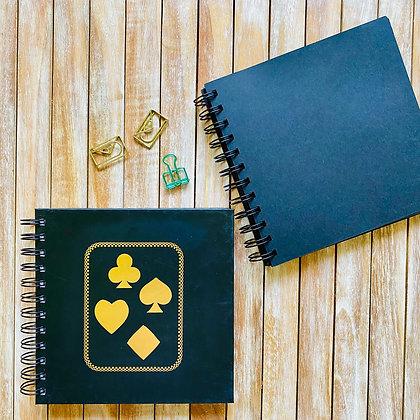 Cuaderno Folia Naipe / Interior Negro