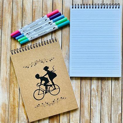 Libreta Caligrafía Bicicleta