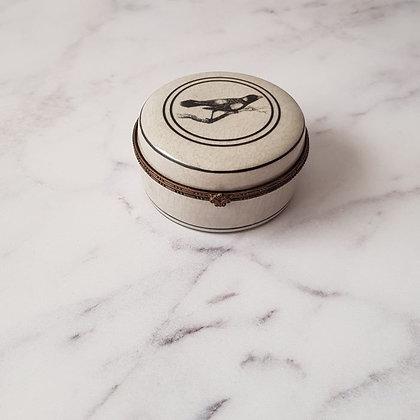 Cajita redonda porcelana inglesa