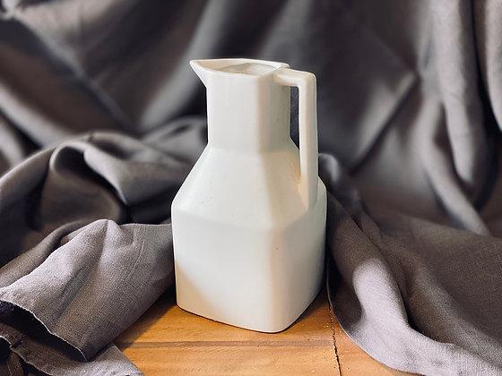 Jarro cerámica blanco