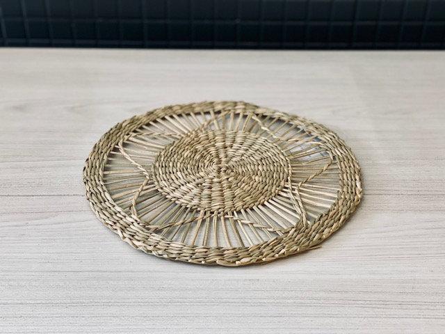 Individual fibra centro flor  Ø 28 cm