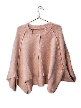 Chaqueta/capa rosa