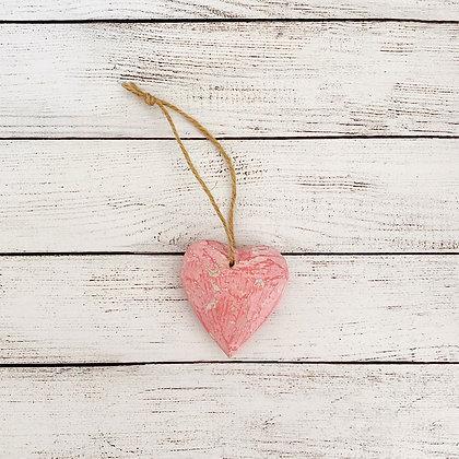 Corazón rosado Bali