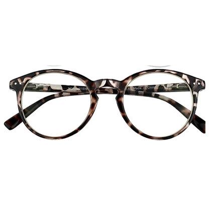 Anteojo Fran Leopard filtro azul Ópticos