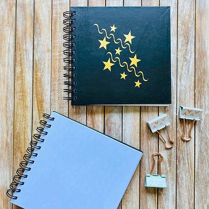Cuaderno Folia Estrellas / Interior Blanco