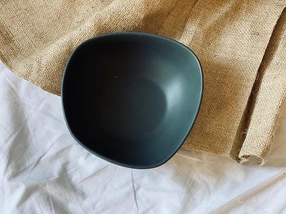 Pocillo irregular grande gris marengo