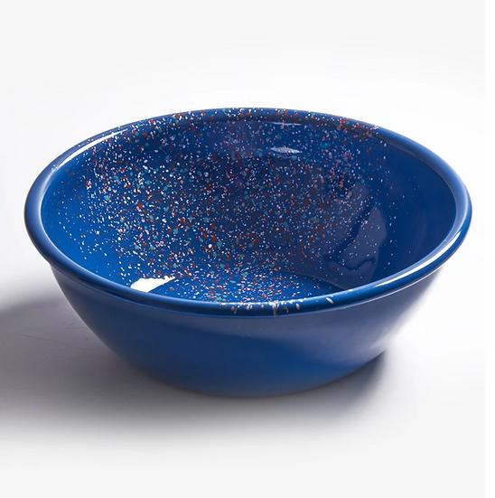 Bowl L enlozado azul