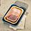 Thumbnail: Fuente rectangular S enlozado rosada