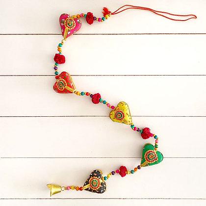 Colgante de corazones hindú II