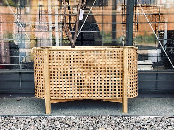 Porta Macetero bamboo 65x23x40 cm