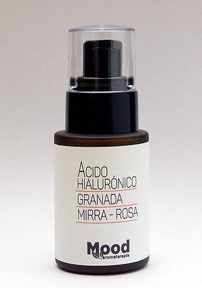 Ácido Hialurónico Granada, Mirra y Rosas