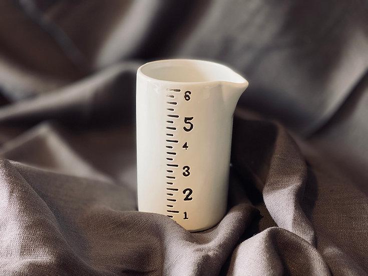 Jarrito cerámica medidas