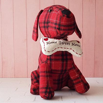 Tope de puertas perro escocés rojo