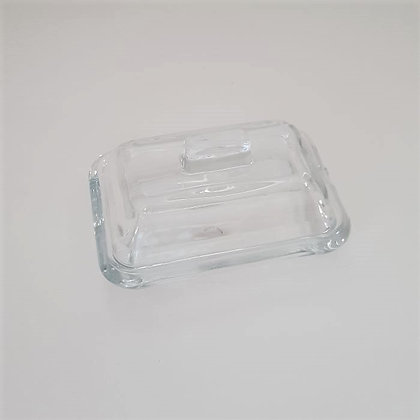 Mantequillera de vidrio