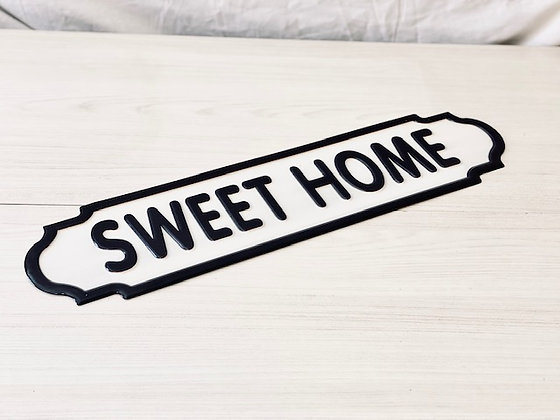 Placa Sweet home