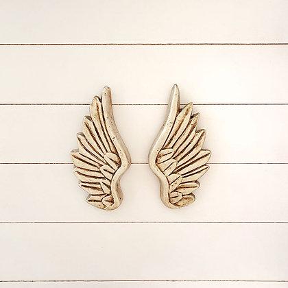 Par de alas platas arriba