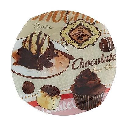 Plato deco chocolate