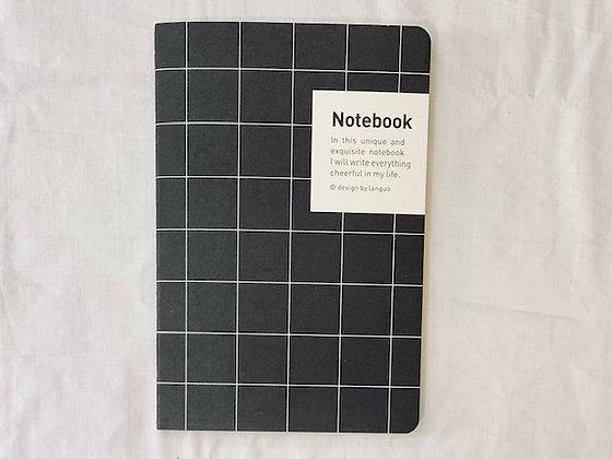 Libreta Notebook malla negro