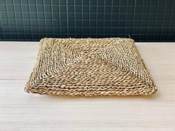 Cojín asiento cuadrado fibra