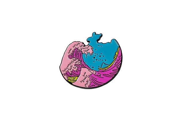 Pin Mar rosa