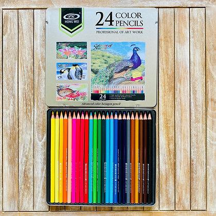 Set Lápices 24 colores