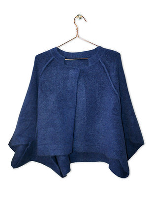 Chaqueta/capa azul