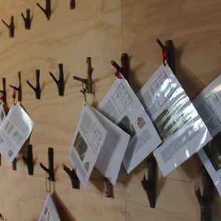handouts over het ontwerp van het landgoedLAB