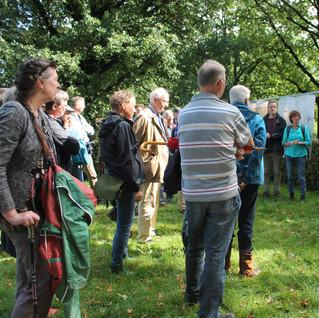 De expositie Ring van Arcadië toonde alle landgoederen en buitenplaatsen in en rond Nijmegen