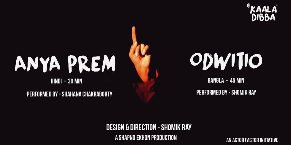 Anya Prem & Odwitio - Two Short Plays In Hindi & Bangla