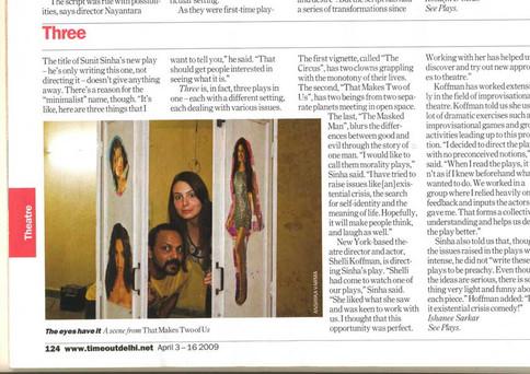 'Three' Press Review