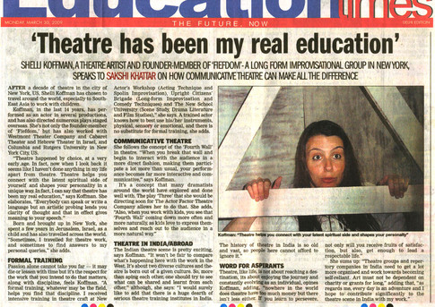 Press Review - First Act