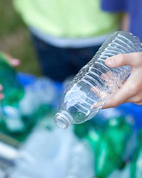 Bouteilles de recyclage