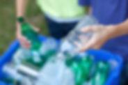 Recycling-Flaschen