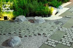หินลูกเต๋า งานบ้านและสวน