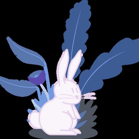 Easter bunny animation