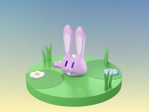 Easter Special: 3D Modeling timelapse in Blender