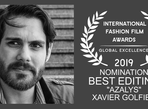 Nominated for best editing on Azalys!